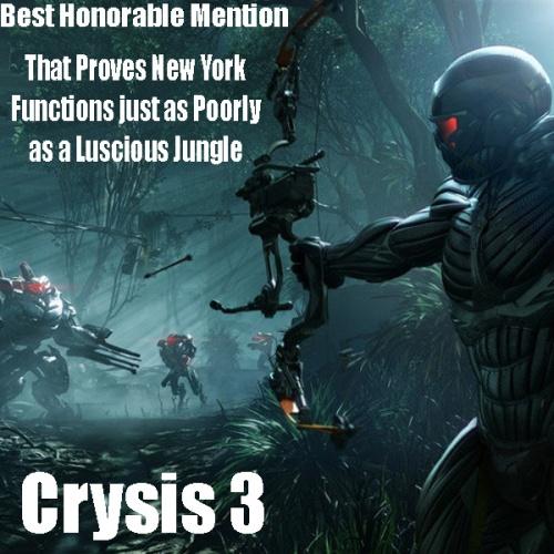 Crysis 3 Award