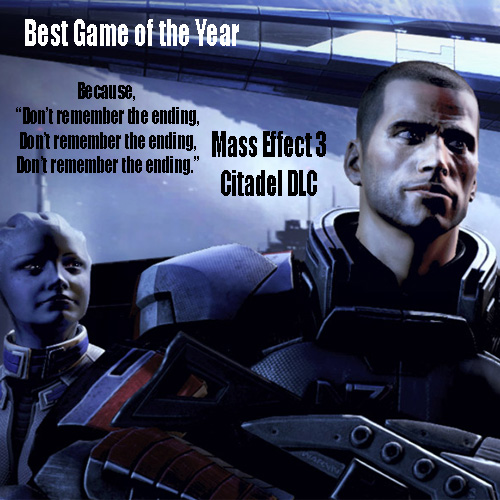 Mass Effect 3 DLC Contender