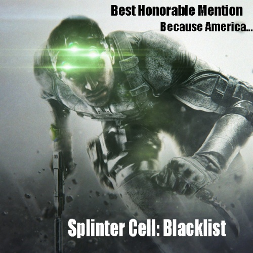 Splinter Cell Blacklist Award