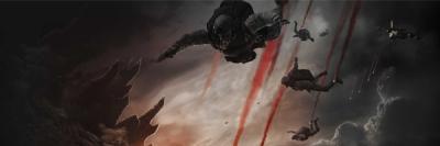 Godzilla Soldiers Banner